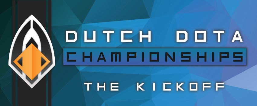 Dutch Dota Championships – The Kickoff